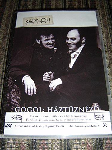 Gogol: Háztűznéző (DVD) Radnóti Színház - Egészen valószínűtlen eset két felvonásban / Audio Only Hungarian