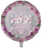 Sensations In Loving Memory of Nan - Globo de recuerdo redondo