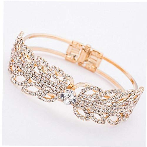 Nieuwe Crystal Retro Textuur Punk Armband Dames Sieraden Premium Armband Bruid Liefde Sieraden Armband Bruiloft Gift