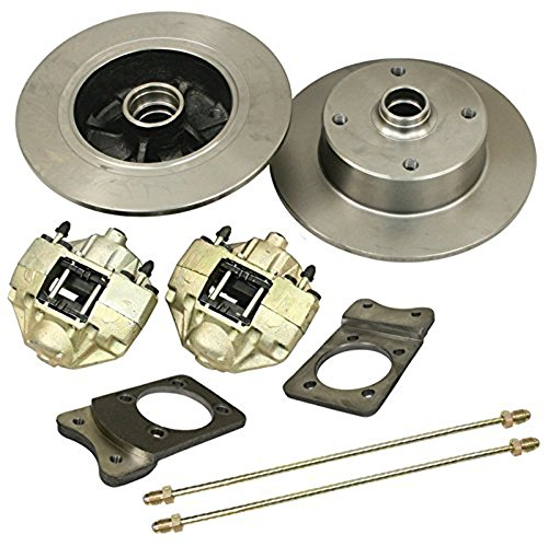 Disc Brake Kit, 4 On 130mm, For Super Beetle, Compatible with Dune Buggy
