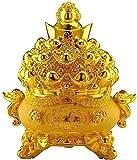 DCLINA Estatua símbolo Riqueza Feng Shui, lingote Oro la Suerte,...