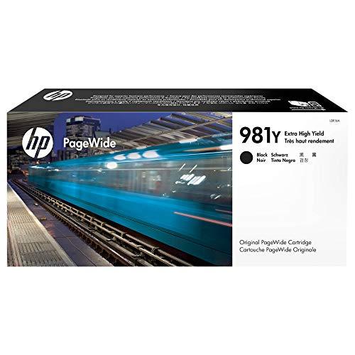 HP 981Y (L0R16A) Original PageWide Druckerpatrone (mit sehr hoher Reichweite für HP PageWide Enterprise) schwarz
