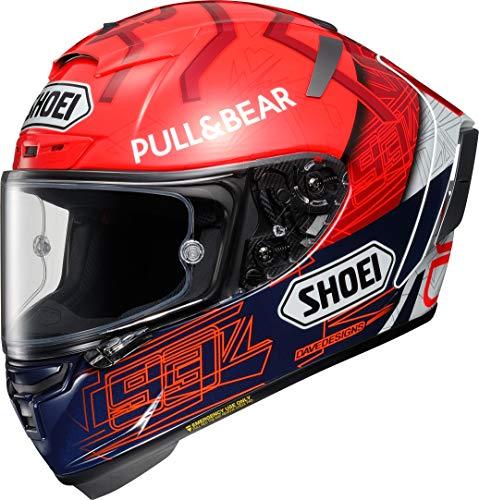 Shoei X-Spirit III Marquez 6 TC1 Motorradhelm Racing Helm Integralhelm Sturzhelm, M