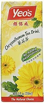 Yeo s Chrysanthemum Tea Drink Lightly Infused Healthy Tea Refreshing Asian Drinks 250 ml  24 Pack