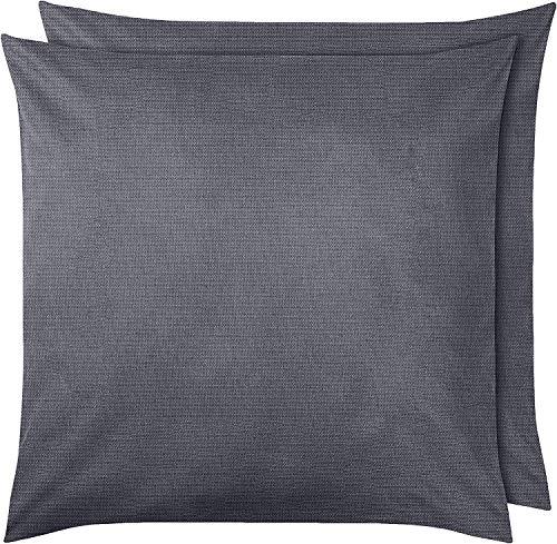Amazon Basics Pillowcase, Dunkelgrau, 65 x 65 cm