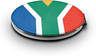 South Africa Flag Makeup MirrorMini Pocket Mirror (Ellipse)