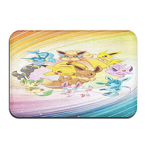 Paillasson Pokémon - Tapis de bain pour intérieur/extérieur - 40,6 x 61 cm