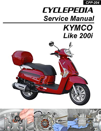 Kymco Like 200i Scooter Service Manual (English Edition)