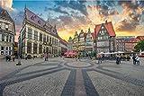 Bremen Altstadt Design XXL Wandbild Kunstdruck Foto Poster
