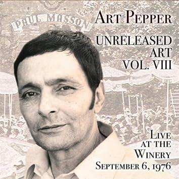 Art Pepper: Unreleased Art, Vol. VIII (Live at the Winery)