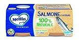 Mellin Omogeneizzato Salmone e Verdure ;24 Vasetti da 80 g