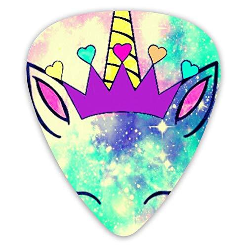Preciosas púas de guitarra Unicorn Galaxy, púas de...