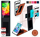 Hülle für Ulefone BE X Tasche Cover Case Bumper | Braun