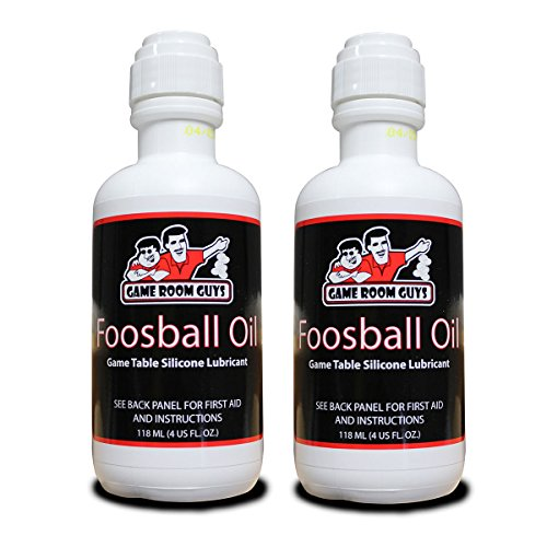 Game Room Guys Package of 2-4 oz Bottles of Foosball...