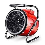 SHUKUILIUDT Calentador de Patio Calefactor Heavy Duty Industrial Gas Propano Calentador eléctrico con por Ventilador for Garaje Taller Almacén Shed Granja