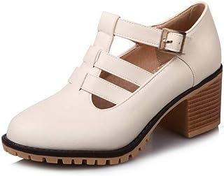 BalaMasa Womens APL12291 Pu Heeled Sandals