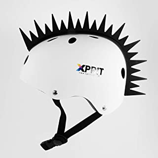 XPRIT Mohawk, Warhawk Wig Accessory Adhesive/Stick On Helmet for Skateboarding, Dirt-Bikes, Motorcycle, Cycling