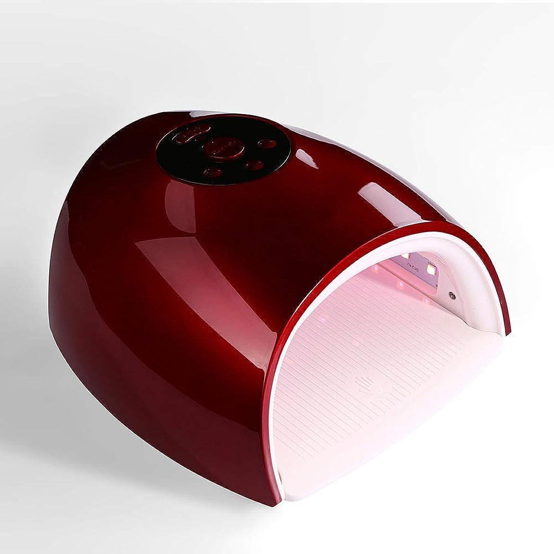 プレゼンター硬さ知覚的釘ドライヤー - 自動赤外線センサー、二重光源のLedランプのゲルのドライヤーのマニキュアが付いている紫外線携帯用Ledの釘ランプ
