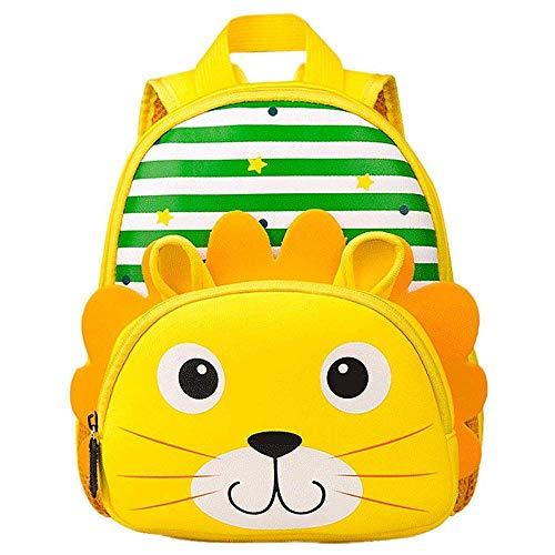 YUHUAWYH Zainetti per Bambini Animal Scuola Borsa Bambino Ragazzi Ragazze Infanzia 1-5 Anni
