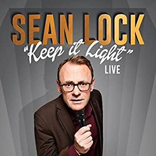 Sean Lock: Keep It Light - Live cover art