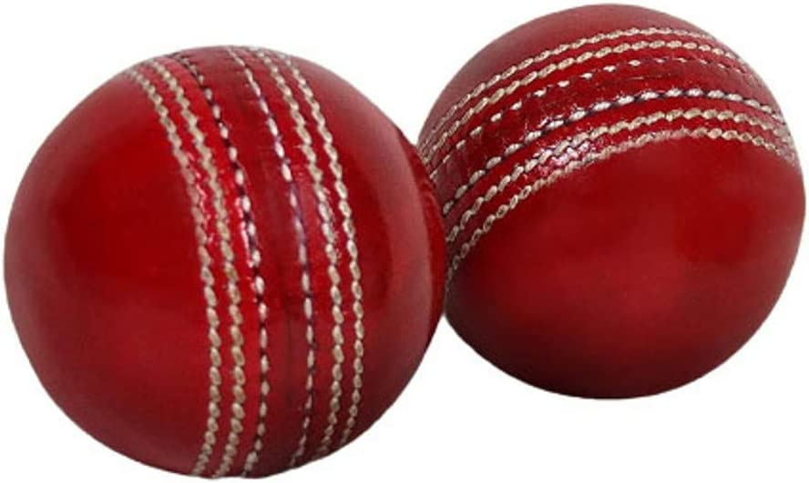 Cricket Match Sports Red Leather All stores are sold Denver Mall Balls Hand A Stitched Grade for