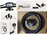 NBpower 26' x 4.0 48V 1500W Electric Bicycle Fat Bike kit, 1500W Fat E-Bike Conversion Kit with 1500W Hub Motor,Multifunction LCD Display, with Tire.