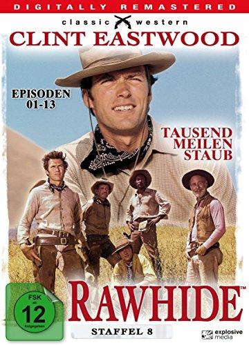 Rawhide - Tausend Meilen Staub - Season 8 [4 DVDs]