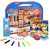 Gift Boutique Paw Patrol Coloring Stamper and Activity Set, Mess Free Craft Kit for Toddlers and Kids, Drawing Art Supplies Included Sketch Book, Bookmark, 3 Foam and 4 Wooden Stampers