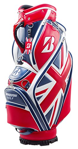 Bridgestone Special Edition Cart Bag British Open Golf, Rosso, M