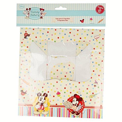 Stor Family Bakery Boîte 6 pour Cupcakes dans Un Sachet