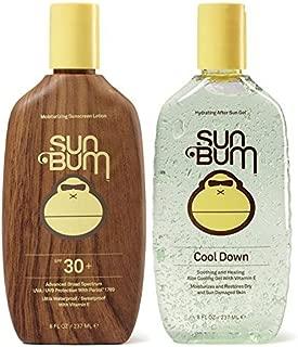 Sun Bum SPF 30 8oz Lotion + Cool Down Aloe Gel