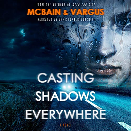 Casting Shadows Everywhere audiobook cover art