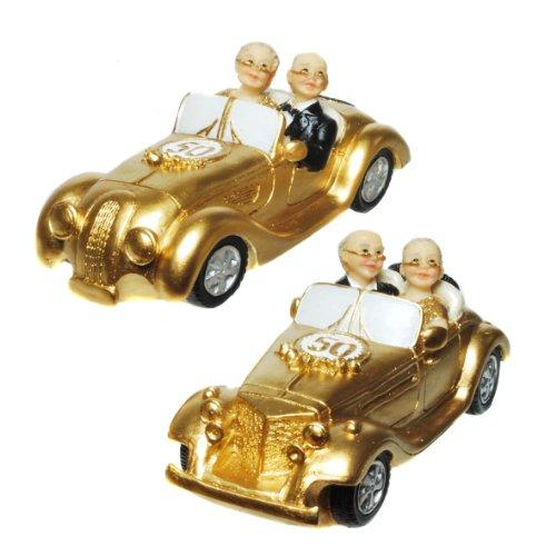 Udo Schmidt Kleine Oldtimer-Figur zur Goldhochzeit