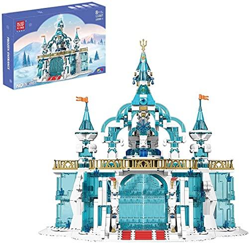 MEIDUN Castillo Princess, Mould King 11008, 1096 Piezas, Juego de Montaje, Compatible con Las Princesas Disney Lego