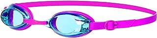 Speedo Jet Junior Kids UV Anti Fog Swimming Goggles (6-14 Years), Pink/Turquoise