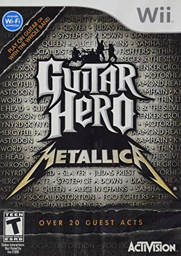Guitar Hero Metallica - Nintendo Wii (Renewed)
