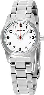 Field Color Reloj para Mujer Analógico de Cuarzo Suizo con Brazalete de Acero Inoxidable 01.0411.134