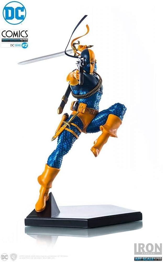 Iron studios deathstroke statue