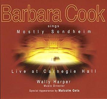 Barbara Cook Sings Mostly Sondheim