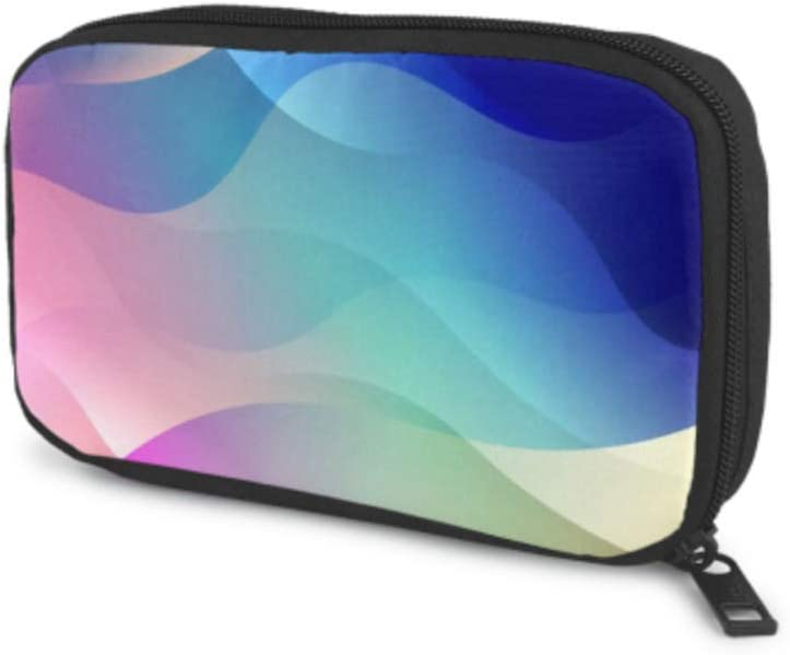 Electronics Accessories Max 48% Max 80% OFF OFF Organizer Bag Background Wave Abstract E
