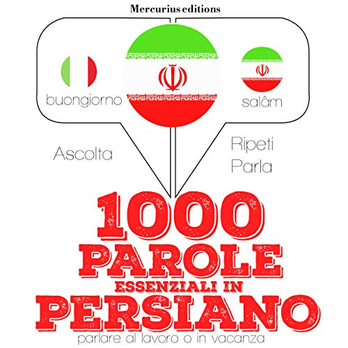 1000 parole essenziali in Persiano audiobook cover art