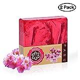 Panu Duschseife – Sakura Naturseife - Körperseife für jeden Hauttyp (2x 110g)