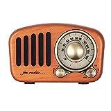 YQK Retro Bluetooth-Lautsprecher, Jahrgang Klassisches Radio Bluetooth 4.2...