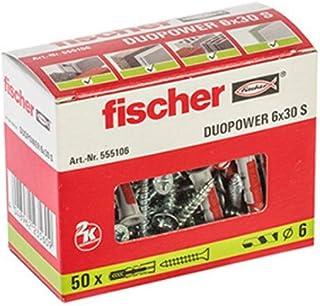 Fischer 555106 DUOPOWER 6x30 S, grijs/rood