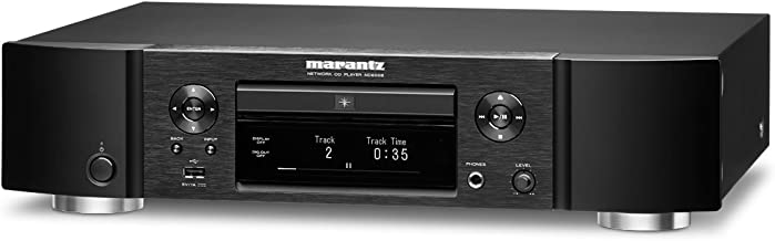 Marantz ND8006 Low-Profile 4-in-1 Digital Media Player: CD Player, Music Streamer, DAC and Pre-amp | with Airplay 2, Bluet...