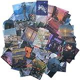 Kawaii Washi Paper Stickers Set (100 Pieces) Time Traveler...
