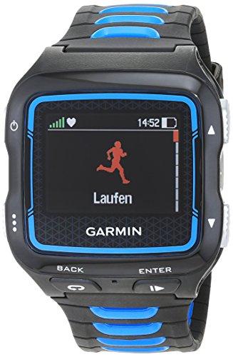 Garmin Forerunner 920XT HRM - Reloj GPS con pulsómetro, Color Azul y Plateado