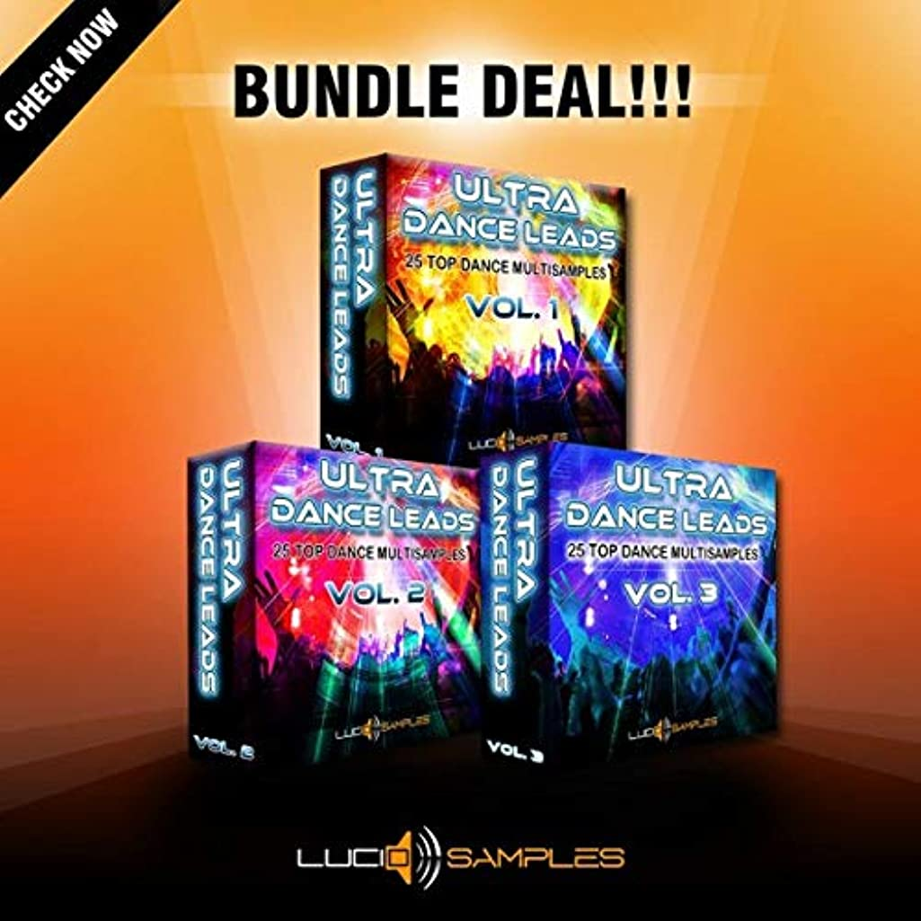 We are proud to announce the release of Ultra Dance Leads Bundle. This is a collection of 75 high quality multi sampled sounds from great hardware synthesizers. | SXT Patches DVD non BOX
