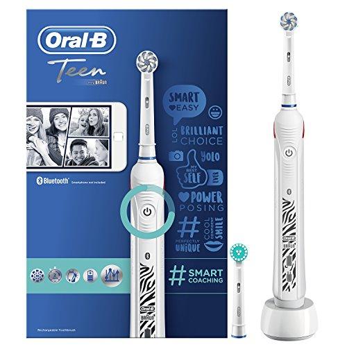 Oral-B Junior cepillo de dientes eléctrico recargable alimentado por Braun