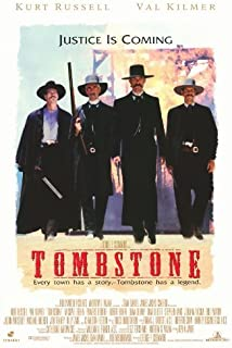 MG Poster (27x40) Tombstone Justice is Coming Movie Poster
